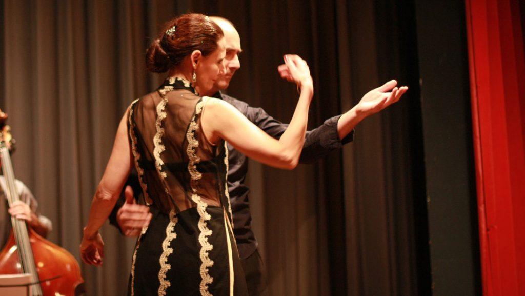 Showauftritt Tango Argentino mit Patrizia und Michael Tanzschule tango X