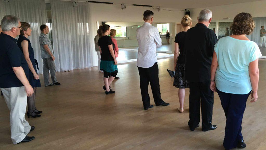 Tango Argentino-Orte - Tangounterricht und Practica