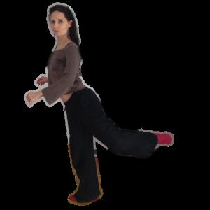 Tango Lehrerin Patrizia Kronthaler hat fundamentale Ballett-Erfahrung
